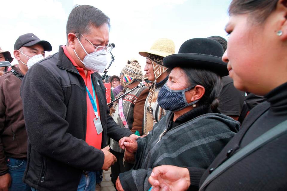 Presidente electo de Bolivia condena maniobras desestabilizadoras