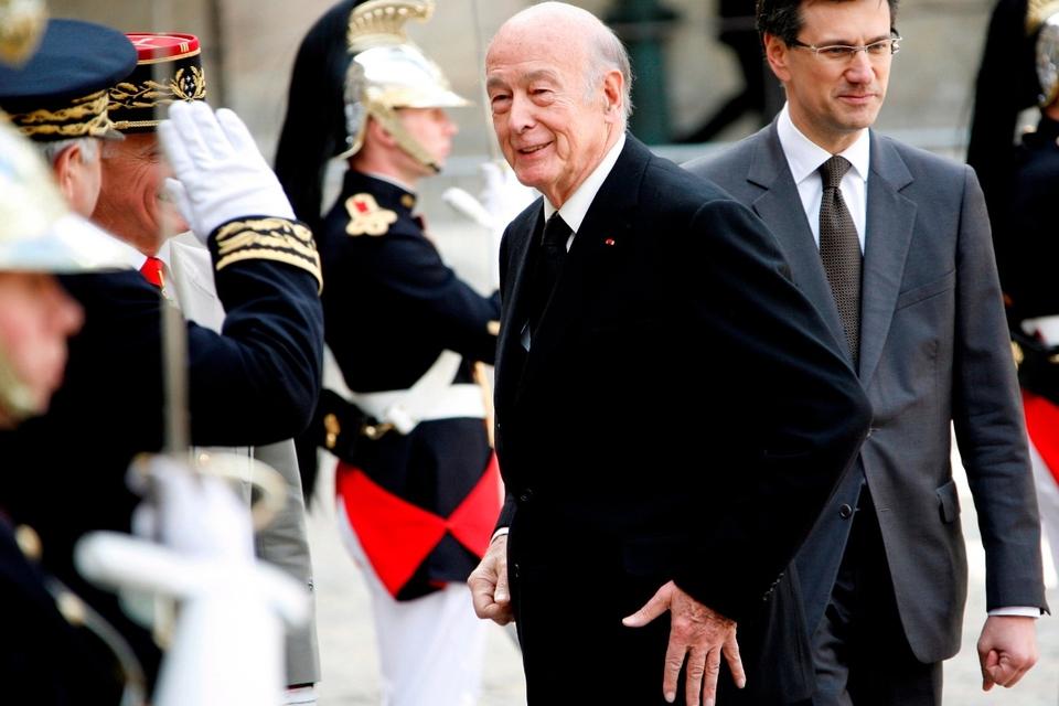 Europa despidió a Valery Giscard d´Estaing