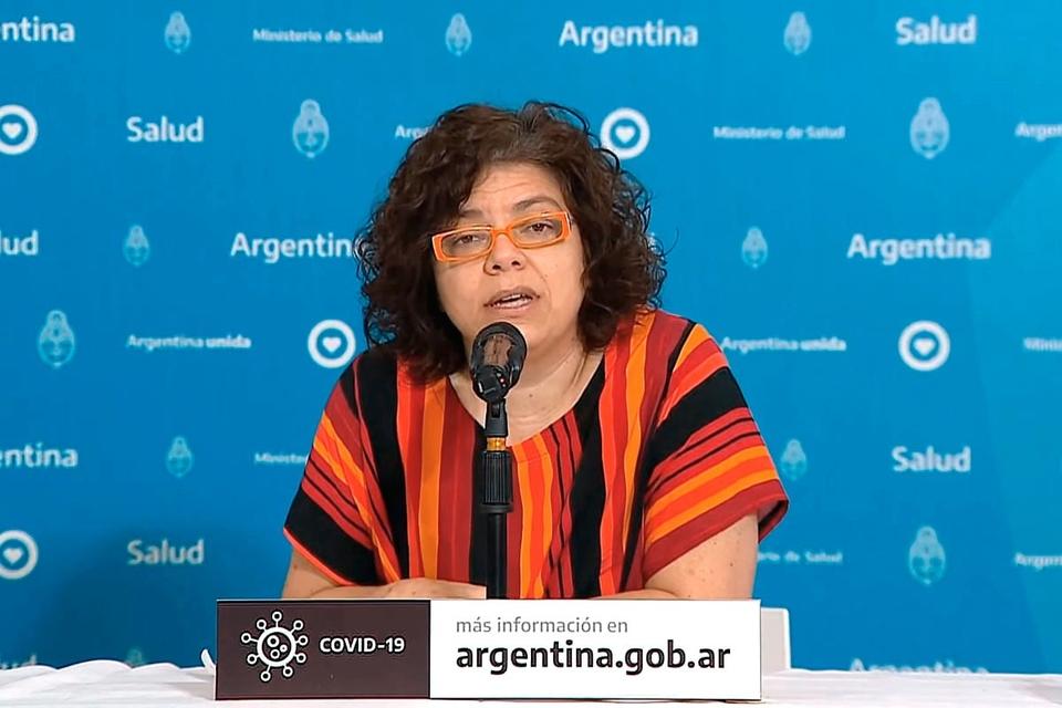 Argentina: Carla Vizzotti dio precisiones sobre la vacuna rusa contra el coronavirus