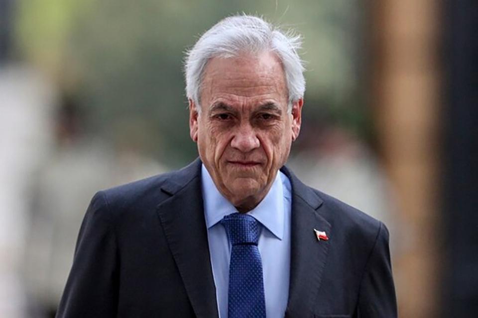 """Piñera anunció modificará la actual ley antiterrorista para hacerla """"más eficaz""""."""