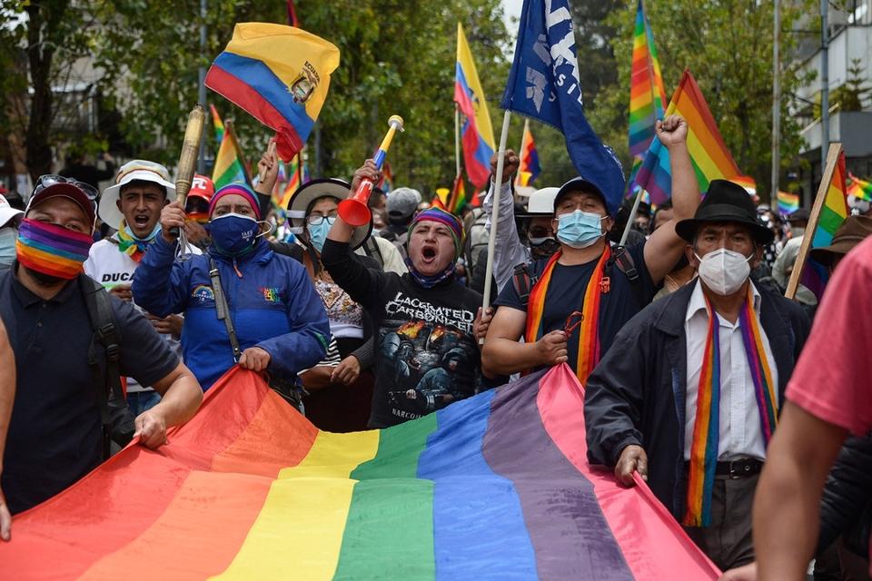 De repente se acordaron de los indígenas en Ecuador