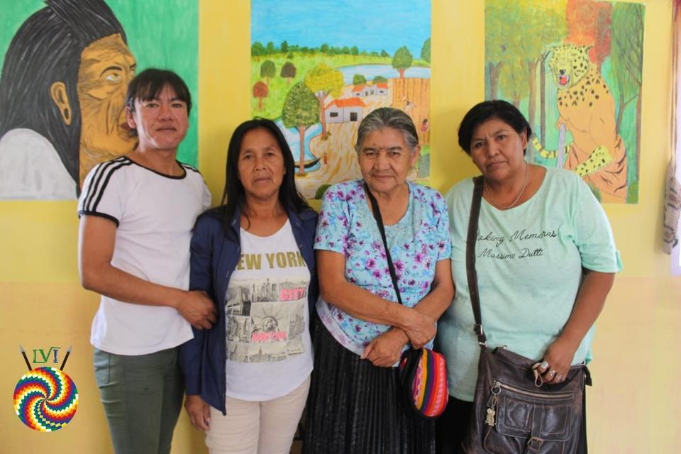 Parte de las investigadoras: Yoselin Plaza, Nancy Lopes, Felisa Mendoza y María Miranda
