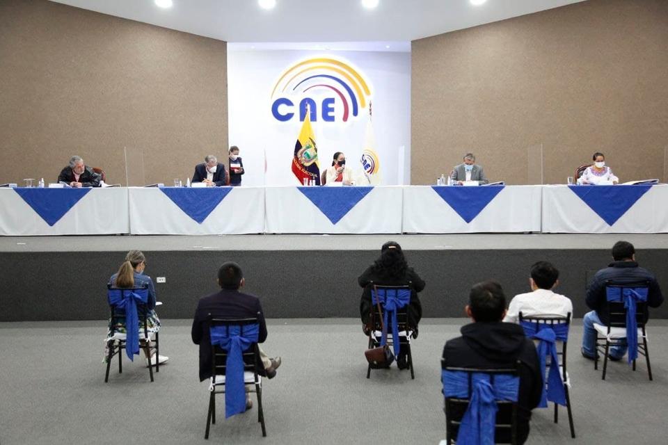 El Consejo Nacional Electoral ecuatoriano sería el eje de un plan para cometer fraude.