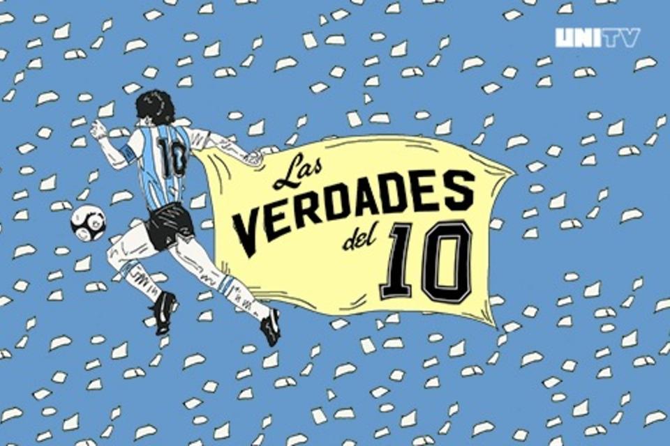 Maradona, hábil con la palabra y con la pelota.