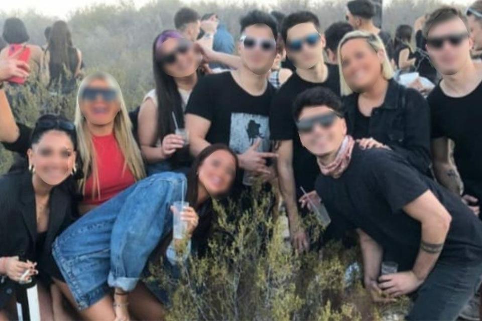 En El Challao, Mendoza, junto al aeroparque de la capital, se realizó una fiesta denunciada en redes sociales.