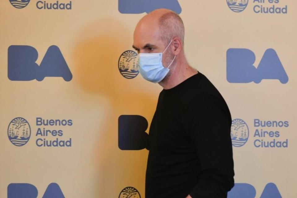 Horacio Rodríguez Larreta informó sobre las nuevas medidas. (Fuente: NA)