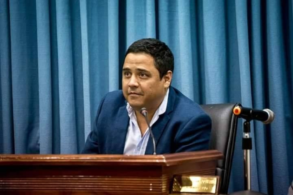Daniel Gustavo Zelaya, presidente del Concejo Deliberante.
