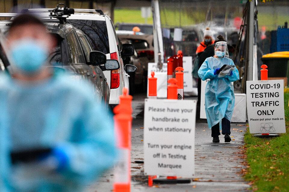 Australia inició un nuevo confinamiento por un rebrote de casos de coronavirus. (Fuente: EFE)