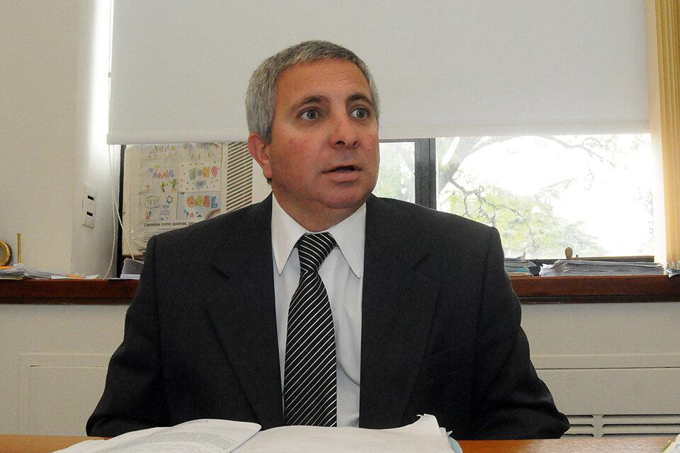El fiscal Vienna imputó a Arriaga por instigar delitos. (Fuente: Archivo Rosario/12)