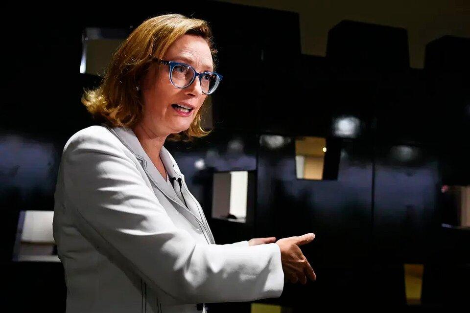 María do Rosario, diputada federal que se pronunció en contra de la Copa América (Fuente: AFP)