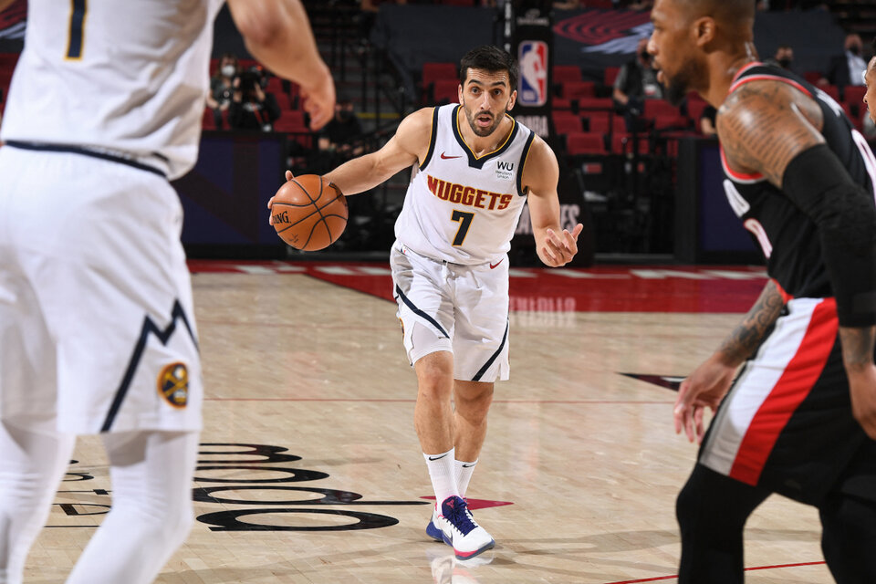 El balance de Facundo Campazzo tras su primer año en la NBA