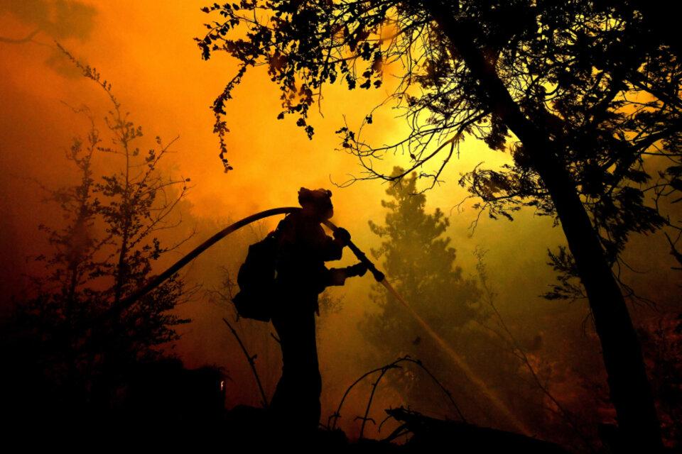 Lava Fire: el incendio en California que ya obligó la evacuación de 8 mil personas (Fuente: EFE)