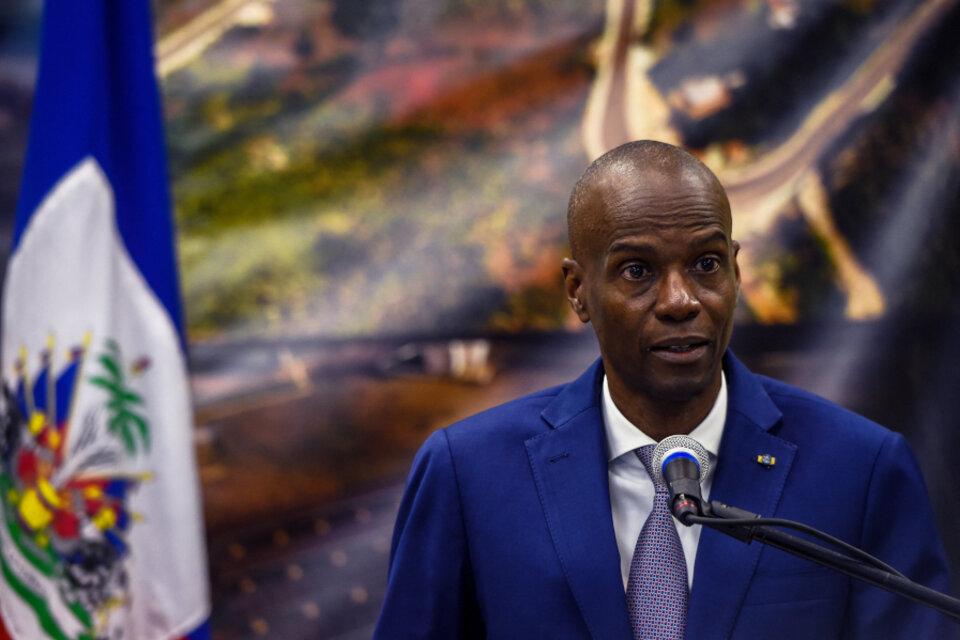 Moise gobernaba por decreto Haití después de que las elecciones legislativas previstas para 2018 se retrasaran. (Fuente: AFP)