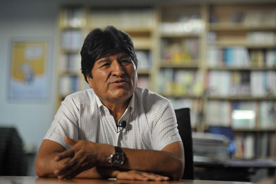 """Evo Morales define a Macri como """"un agente del imperio y las transnacionales"""". (Fuente: Adrián Pérez)"""