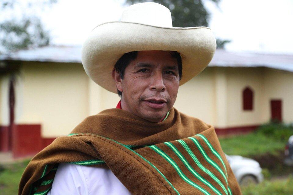 Castillo asumirá la presidencia de Perú el 28 de julio. (Fuente: AFP)