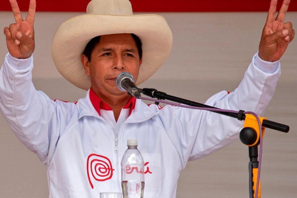 Pedro Castillo recibió el saludo de distintos líderes latinoamericanos. (Fuente: AFP)