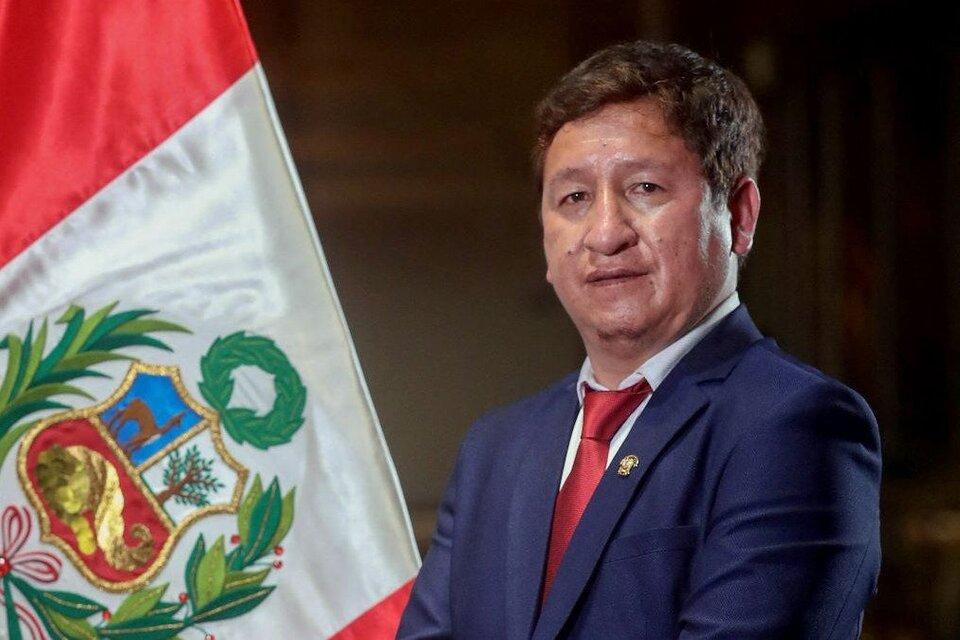Guido Bellido, jefe de gabinete, blanco de la campaña de difamación. (Fuente: AFP)