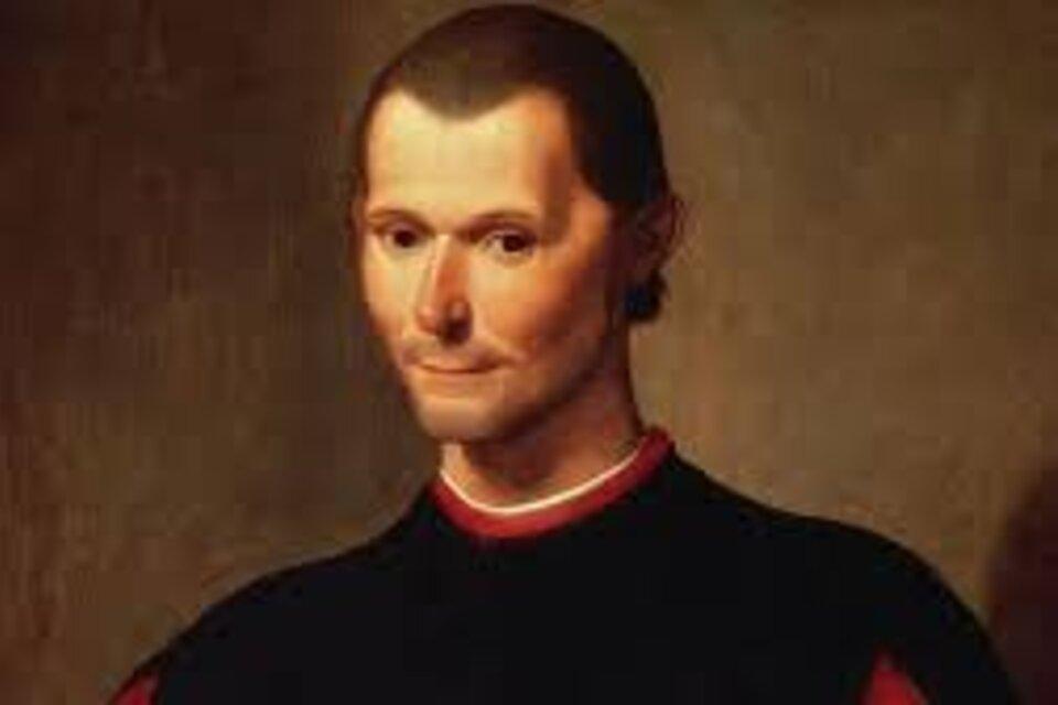 Imagen de Maquiavelo.