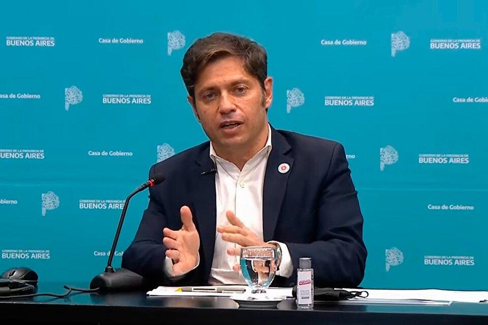 Axel Kicillof anunció la reestructuración del 98% de la deuda de la provincia de Buenos Aires.