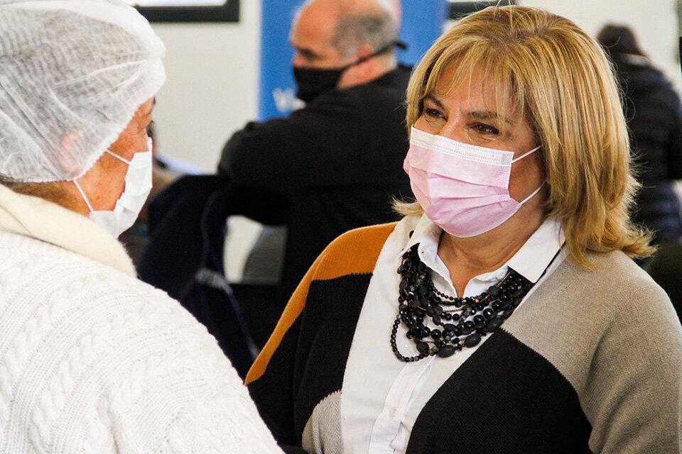 La ministra de Salud de la provincia, Sonia Martorano. (Fuente: Prensa Gobernación)