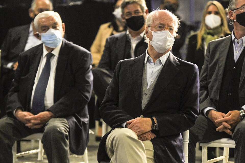 El CEO del Grupo Techint, Paolo Rocca, durante la celebración del Día de la Industria. (Fuente: NA)