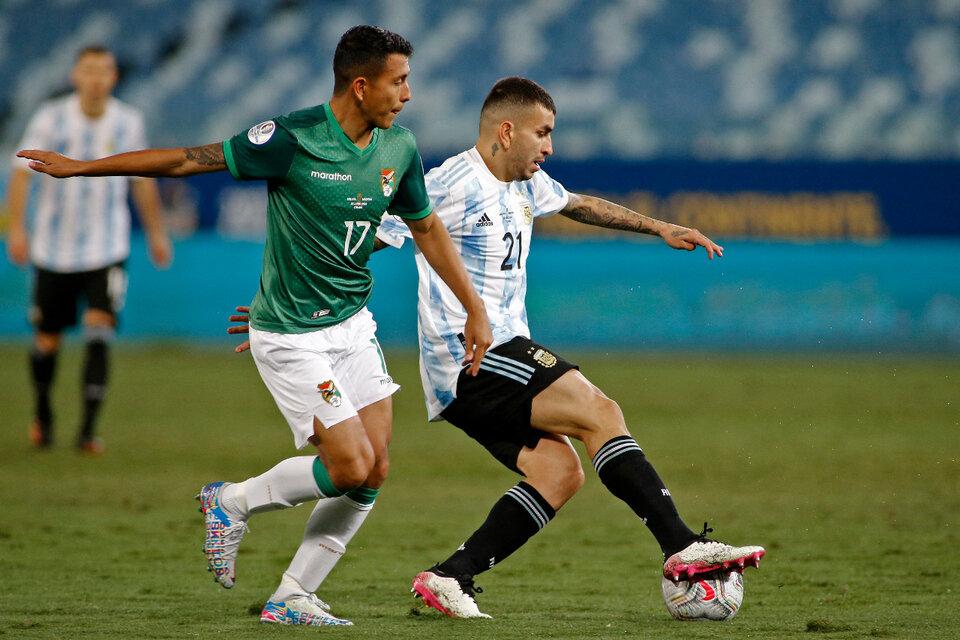 El último Argentina-Bolivia terminó con victoria por 2-0 para los locales. (Fuente: AFP)
