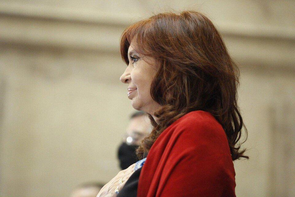 Cristina Fernández de Kirchner, vicepresidenta de la Nación. (Fuente: NA)