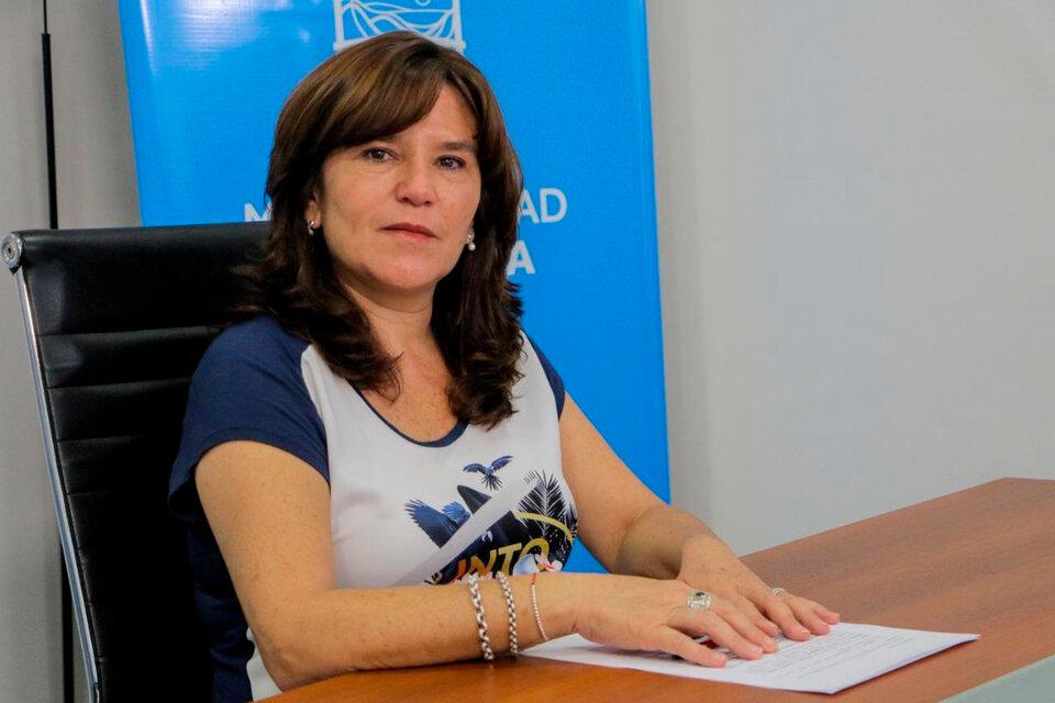 Inés Brizuela y Doria, intendenta radical de La Rioja Capital. (Fuente: Télam)