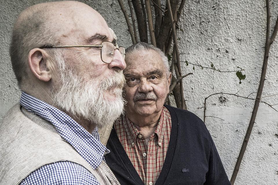 Jean-Yves Lagavre y Juan Stoppani