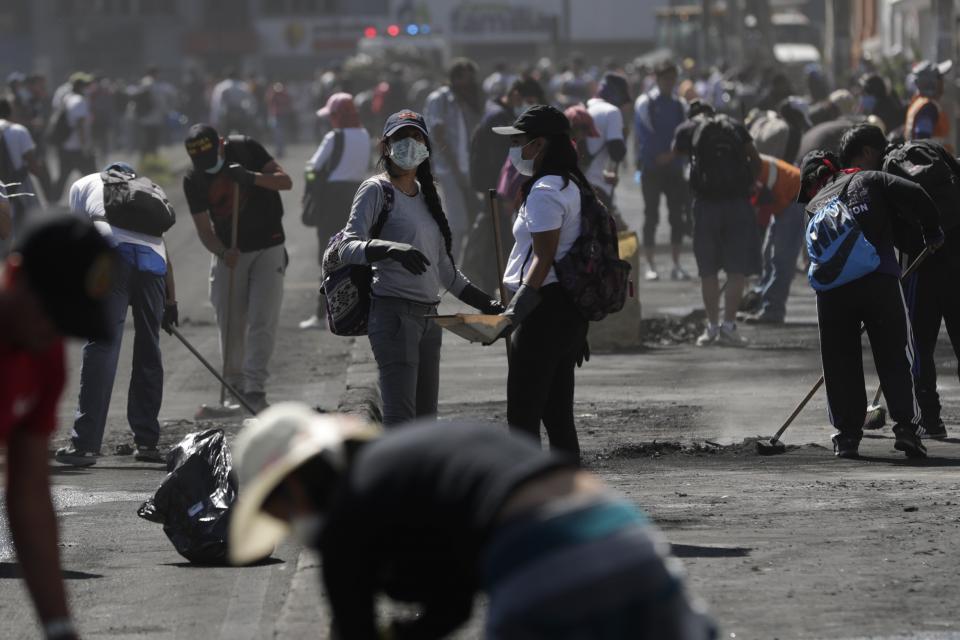 Quito vuelve a la calma tras 11 días de marchas y protestas.