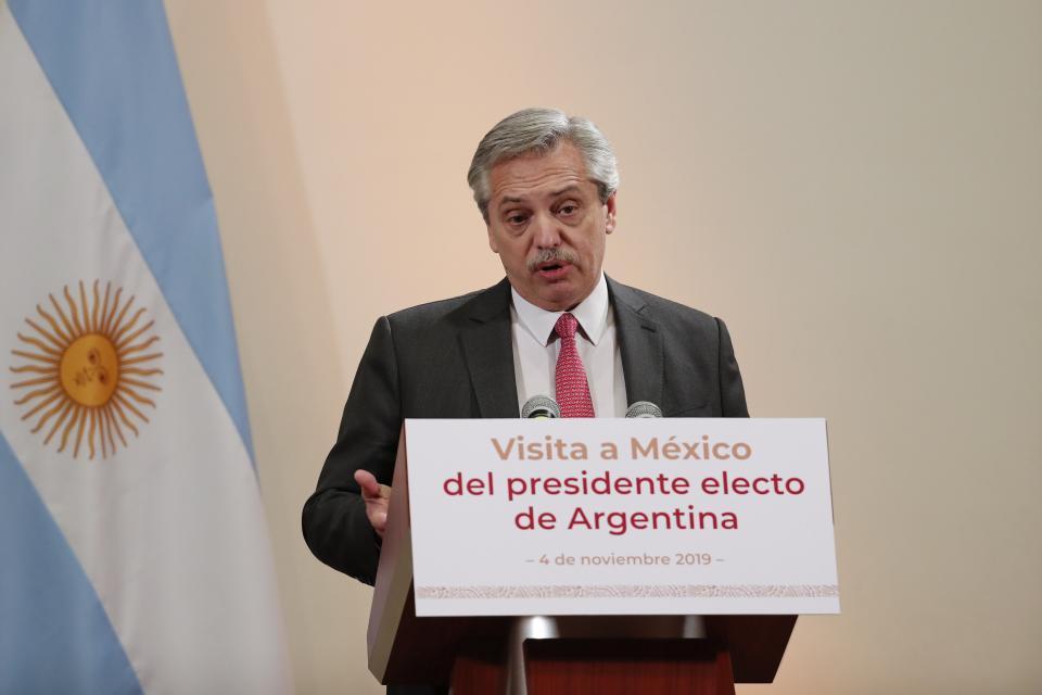El presidente electo habló de Chile. Pero no se mencionó a Bolsonaro.