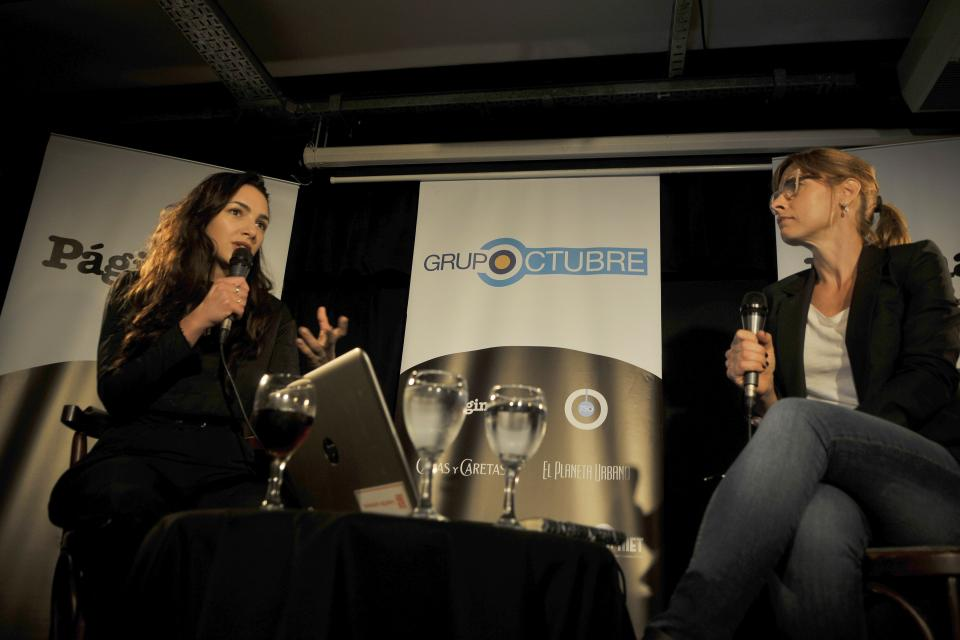 Thelma Fardin dialogó con la periodista de Página/12 Mariana Carbajal.