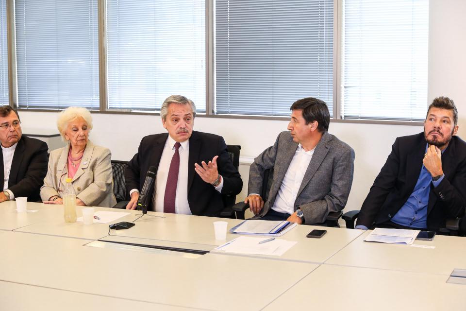 Alberto Fernández covocó al Consejo en sus nuevas oficinas de Puerto Madero.