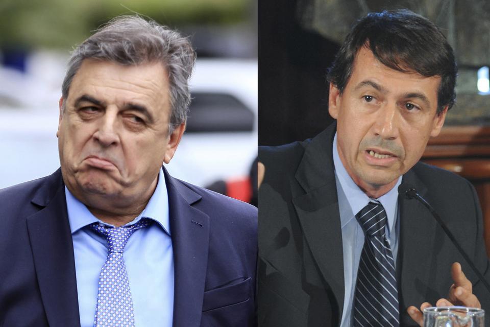Los radicales Mario Negri (Diputados) y Luis Naidenoff (Senadores)