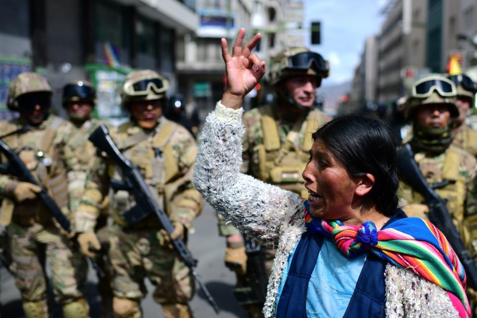 Las protestas en Bolivia después del Golpe de Estado, en las que ya murieron 12 personas.