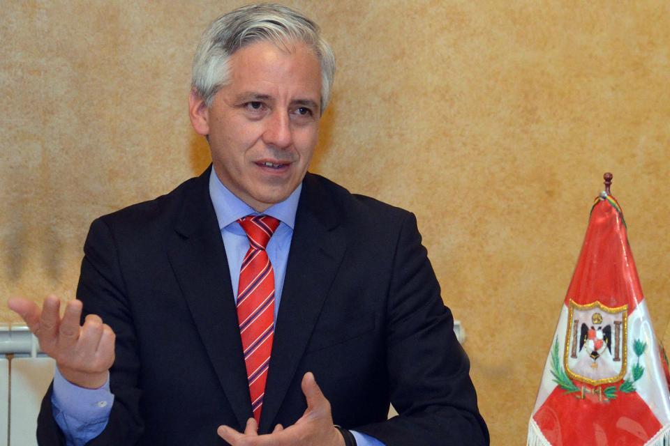 Álvaro García Linera se refirió a la violenta represión en su país.
