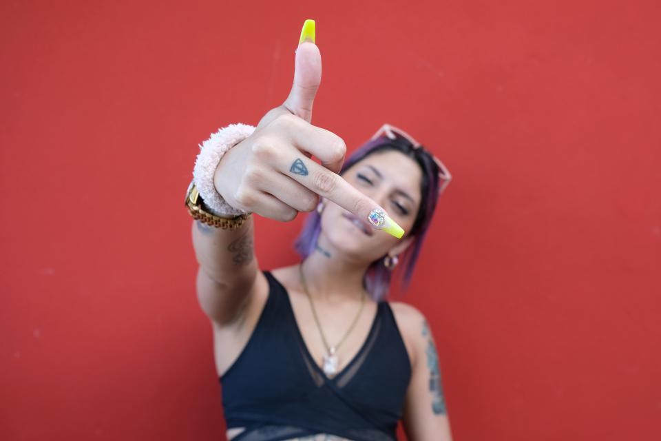 raperas argentina - Dakillah