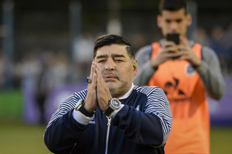 FOTO) El mensaje de Maradona por brote de coronavirus en Italia y Argentina  | ECUAGOL