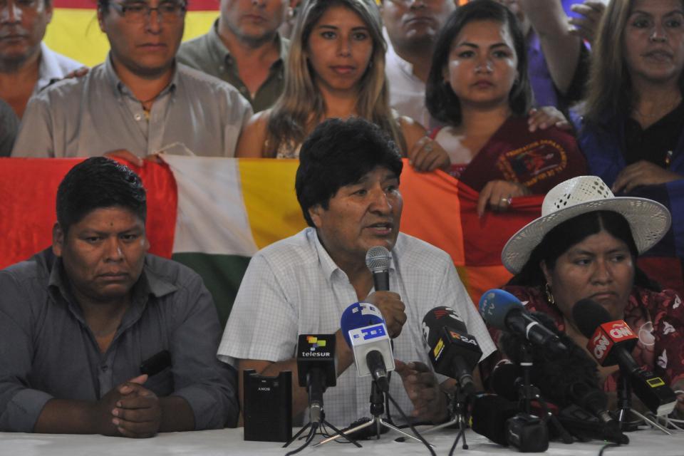"""""""No fue sencillo porque fue un debate de contenido ideológico, programático y económico"""", dijo Evo Morales."""