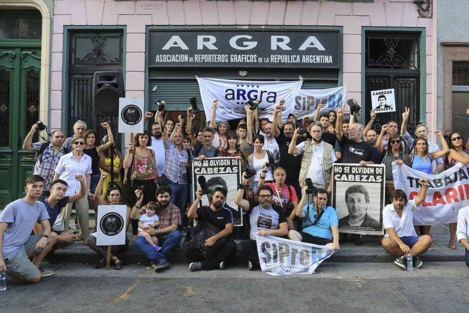 La Asociación de Reporteros Gráficos de la República Argentina (ARGRA) hará un acto a las 18.30.