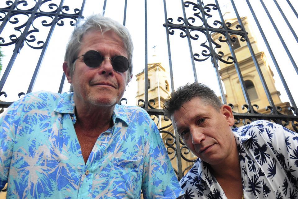 Juan del Barrio y Gato Azul, dos de los Abuelos.