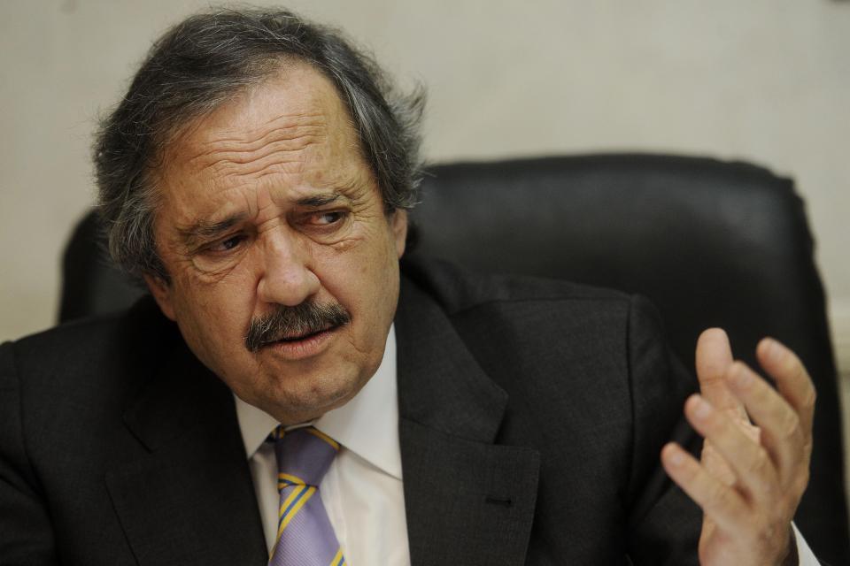 """""""Si me quieren echar del partido que se hagan cargo"""", dice Alfonsín."""