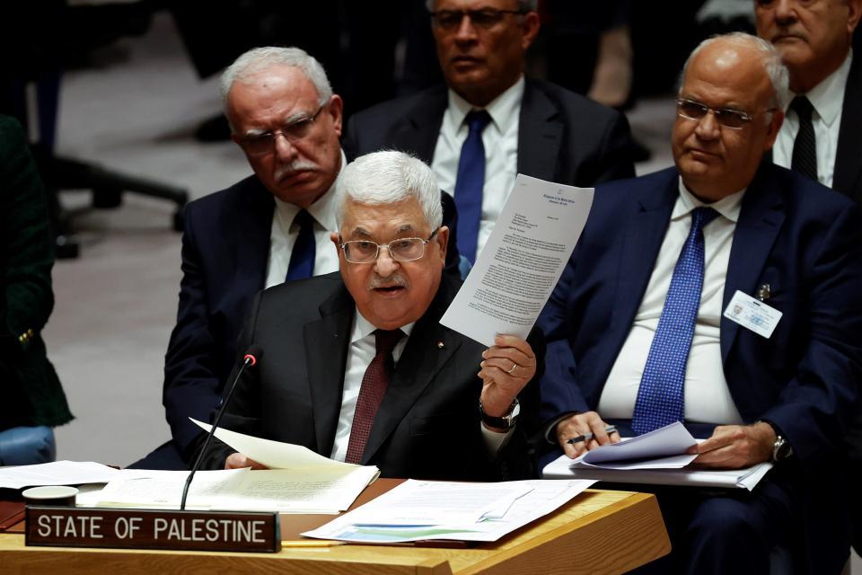 Abbas rechazó en la ONU el plan de paz de Trump