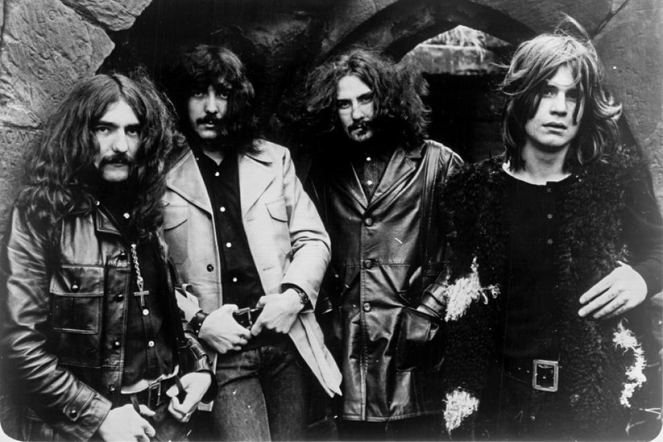 Black Sabbath en 1970, cuando empezaba su influyente y glorioso trayecto.