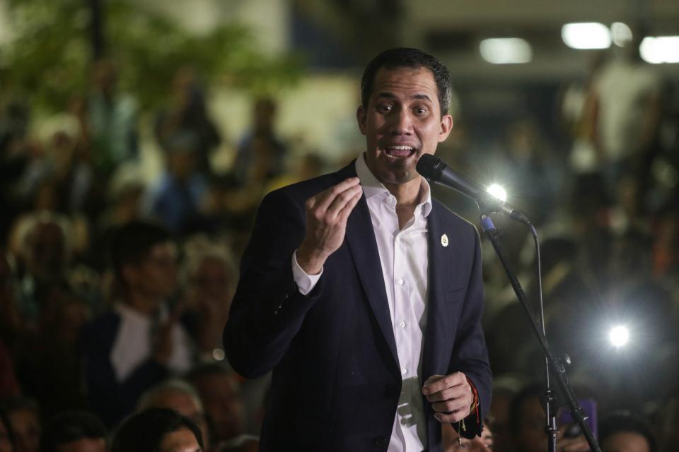 """Guaidó acompañaba a su tío cuando entró al país con """"sustancias químicas de naturaleza explosiva""""."""