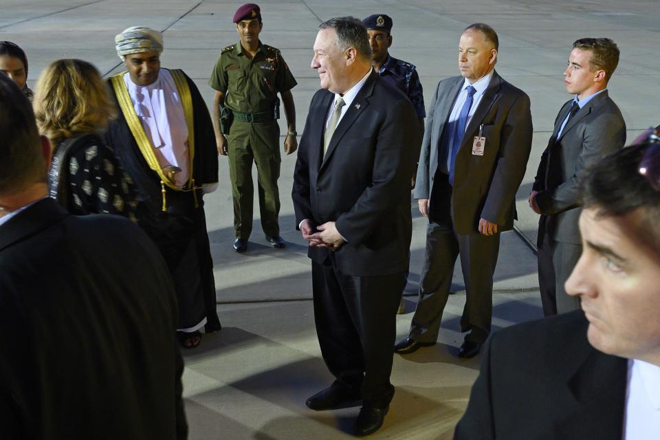 Pomeo llega el viernes a Omán, primera escala de su gira por Africa y Oriente Medio.