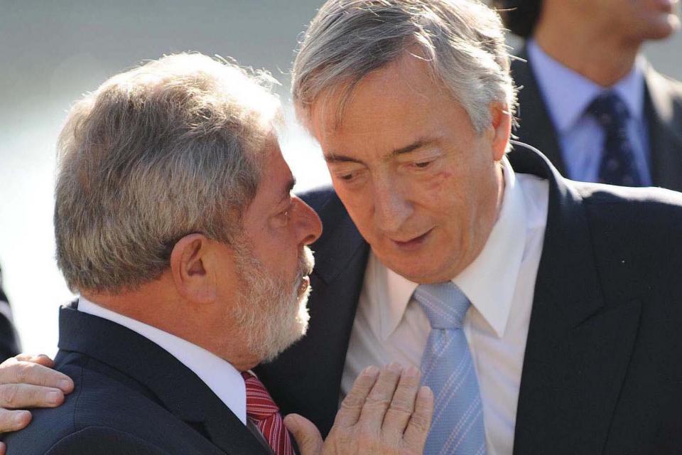 Lula recordó a Néstor Kirchner