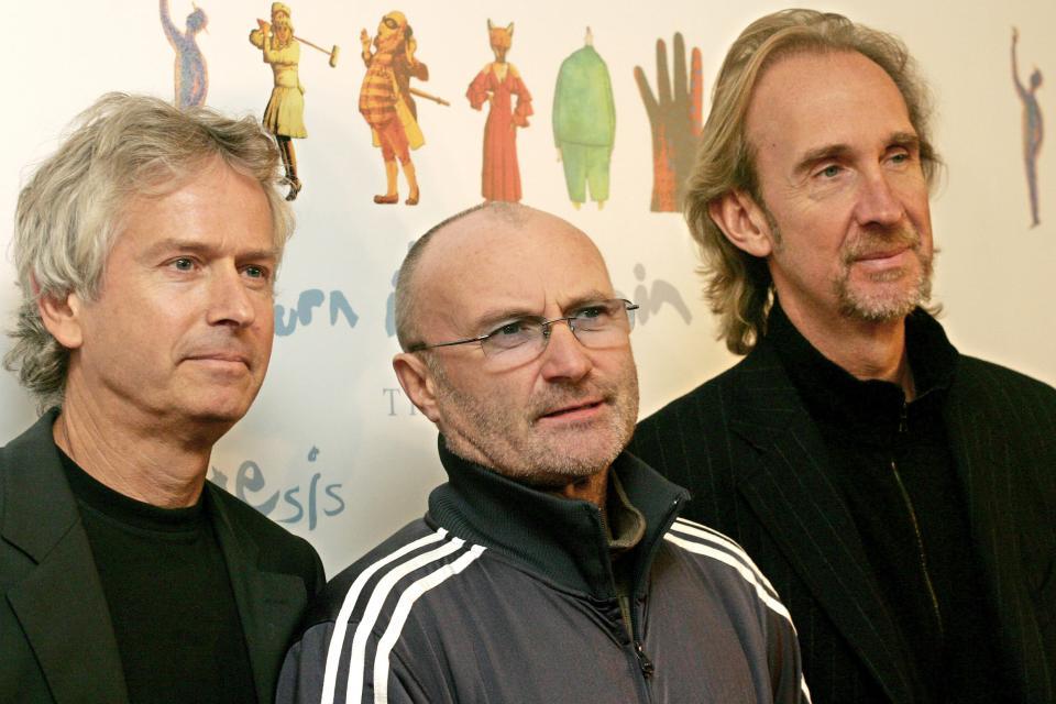 Los tres integrantes de Genesis no tocan juntos desde 2007.