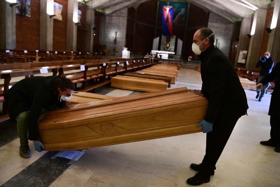 Nuevo récord de muertos en Italia