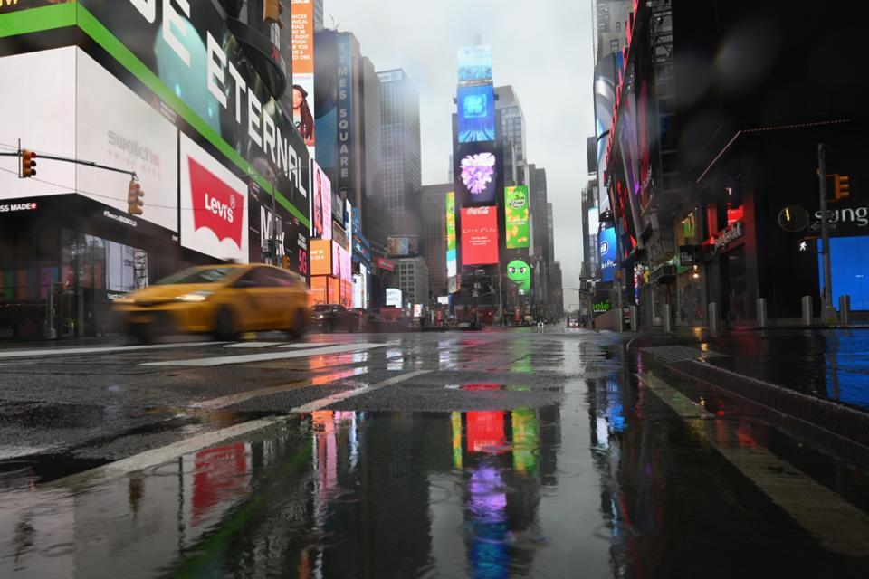 Nueva York en pie de guerra
